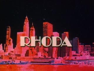 <i>Rhoda</i> American television sitcom