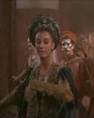 Rosaline - Rosaline in Zeffirelli's Romeo and Juliet, one of the few films to give her a visible role.