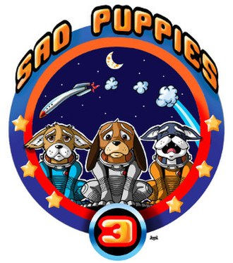 Sad Puppies - Image: Sad Puppies 3 logo