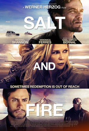 Salt and Fire - Theatrical release poster