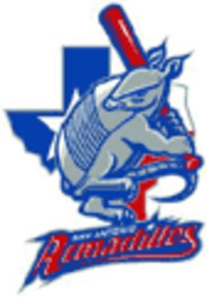 San Antonio Armadillos (2004 NPF team) - Image: San Antonio Armadillos NPF logo
