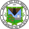 Official seal of Municipality of San Miguel