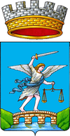 Coat of arms of Sant'Angelo in Pontano