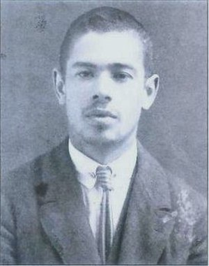 Elazar Shach - Passport photo (1920s)
