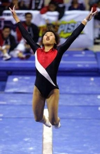 Gymnastics at the 2005 Southeast Asian Games - Image: Sea games gym 2