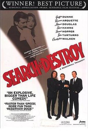 Search and Destroy (film) - Theatrical Release Poster