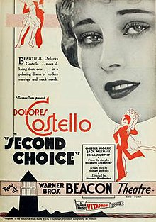 Second Choice 1930 Poster.jpg