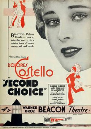 Second Choice - Image: Second Choice 1930 Poster