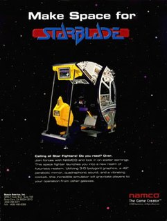 <i>Starblade</i> 1991 video game