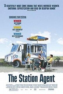 <i>The Station Agent</i> 2003 film by Tom McCarthy