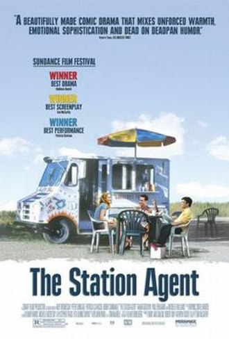 The Station Agent - Theatrical release poster