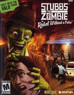 Stubbs the Zombie in Rebel Without a Pulse - Image: Stubbsbox