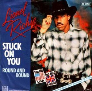 Stuck on You (Lionel Richie song) - Image: Stuck on you (Lionel Richie)