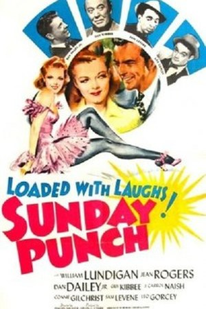 Sunday Punch (film) - Theatrical release poster