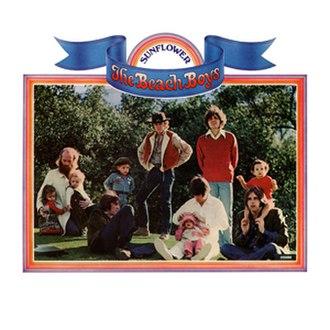 Sunflower (The Beach Boys album) - Image: Sunflower Cover