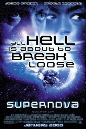 Supernova (2000 film) - Theatrical release poster