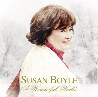 A Wonderful World (Susan Boyle album) - Image: Susan Boyle A Wonderful World Album Cover