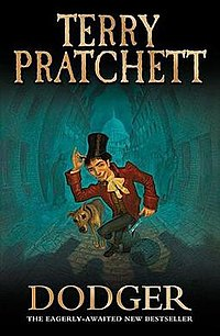 Terry Pratchett Dodger-kover.jpg