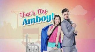 <i>Thats My Amboy</i> 2016 Philippine television series