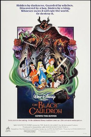 The Black Cauldron (film) - Original theatrical release poster