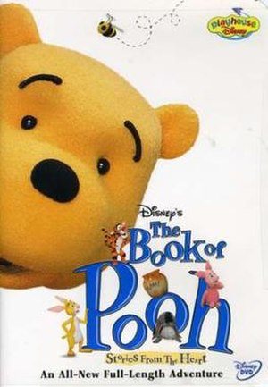 The Book of Pooh: Stories from the Heart - DVD cover