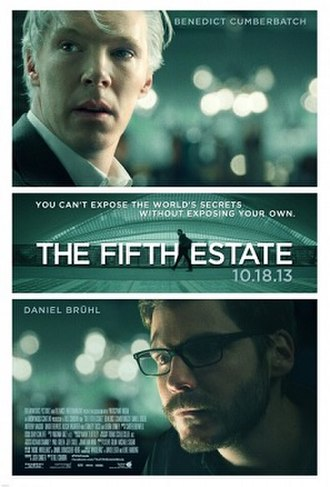 The Fifth Estate (film) - Image: The Fifth Estate poster