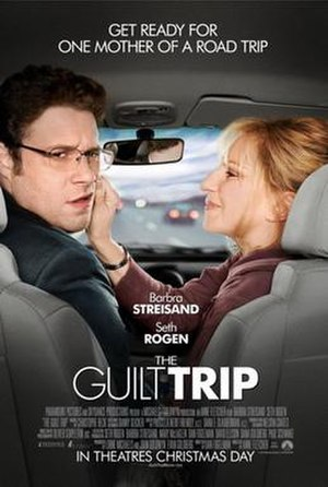 The Guilt Trip (film) - Theatrical release poster