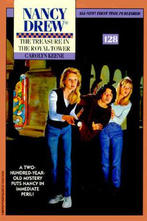 The Treasure in the Royal Tower (novel) - Image: The Treasure in the Royal Tower Book Cover