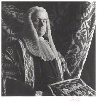 Gavin Simonds, 1st Viscount Simonds - 1953 photograph of Lord Simonds by Sir Cecil Beaton.