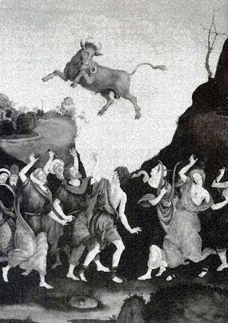 Golden calf - The Worship of the Golden Calf by Filippino Lippi (1457–1504)