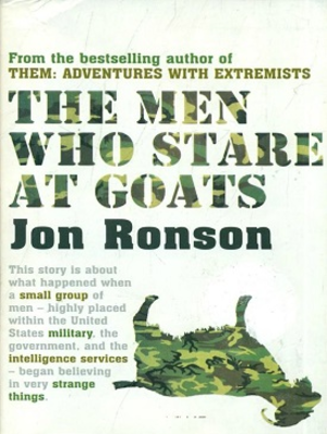 The Men Who Stare at Goats - Image: The men who stare at goats book cover