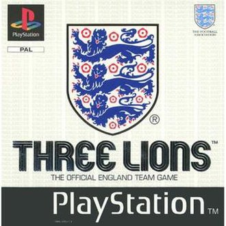 Three Lions (video game) - Image: Three Lions Playstation