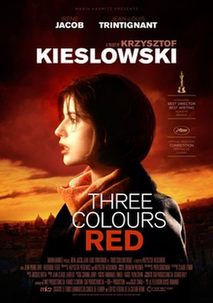 Three Colours: Red - Theatrical release poster