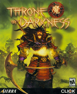 <i>Throne of Darkness</i> 2001 video game
