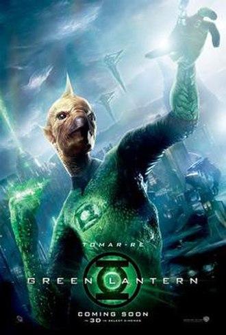 Tomar-Re - Tomar-Re as he appeared in Green Lantern.