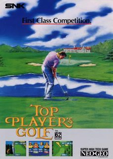 <i>Top Players Golf</i> 1990 video game