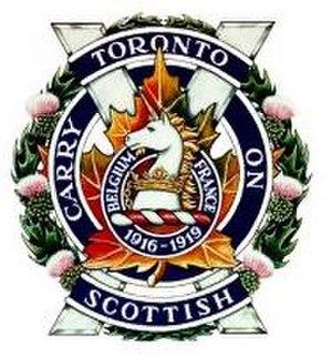 The Toronto Scottish Regiment (Queen Elizabeth The Queen Mother's Own) - Image: Torontoscottish