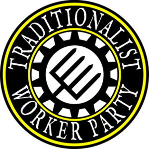 Traditionalist Worker Party - Image: Traditionalist Worker Party logo