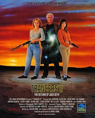 Trancers II - Release poster