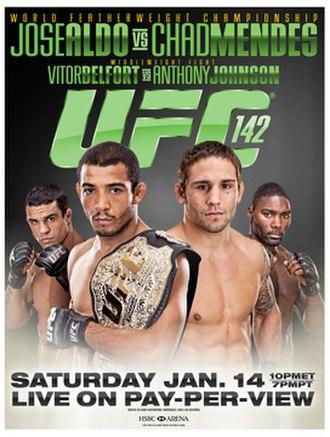 UFC 142 - Image: UFC 142 poster
