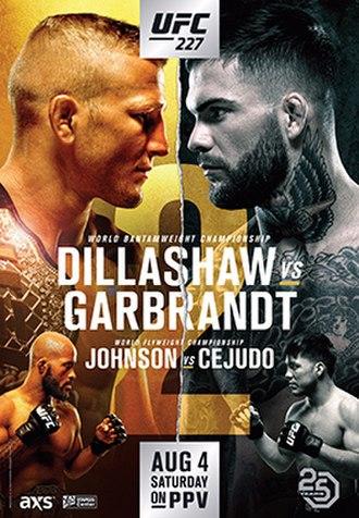UFC 227 - Image: UFC 227 Poster