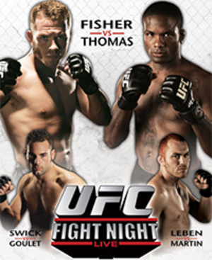 UFC Fight Night: Thomas vs. Florian - Image: UFN11