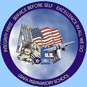 United States Air Force Academy Preparatory School - Image: USAFA Prep Sch Logo