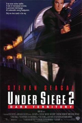 Under Siege 2: Dark Territory - Theatrical release poster