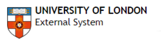 University of London International Programmes - University of London External System official logo from year 2007 to 2010.