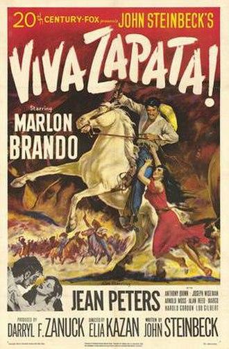 Viva Zapata! - Theatrical release poster
