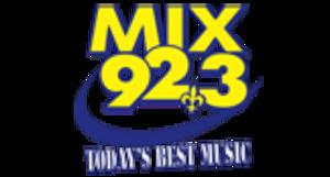 """WZRH - former """"Mix 92.3"""" ident."""