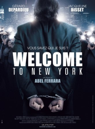 Welcome to New York (2014 film) - Theatrical release poster