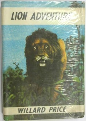 Lion Adventure - First UK edition (publ. Jonathan Cape)