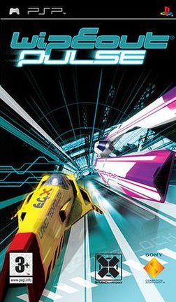 European Cover for Wipeout Pulse.